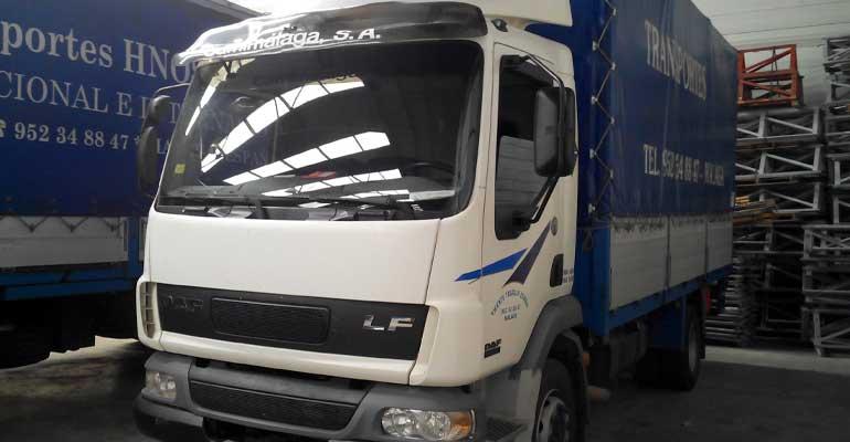 Camion de 3500kg de carga útil, 5 metros de caja